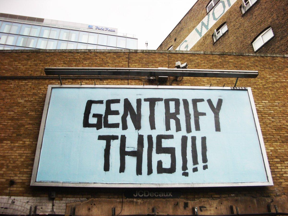 Vous avez dit «gentrification» ?